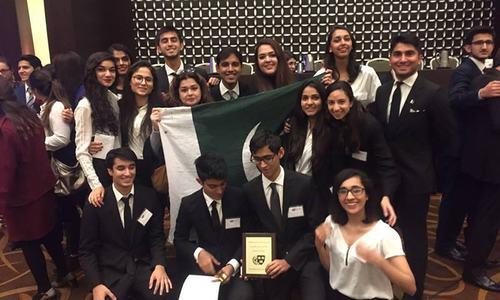 Karachi Grammar School named best international delegation ...