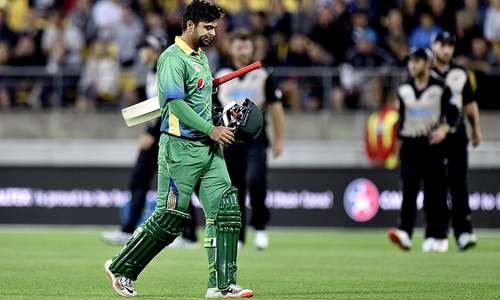 End of the line for Ahmed Shehzad?