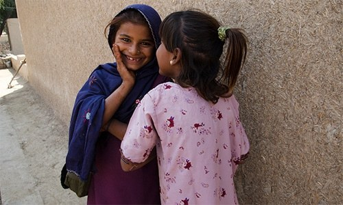 Over 13 million Pakistani girls have never been inside a classroom