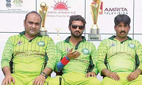Psychological factor in India games hurting Pakistan's blind team