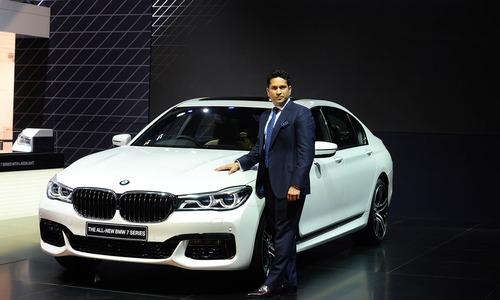 Indian auto show exhibits SUVs, super bikes alongside cricket stars