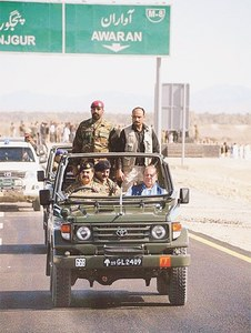 193km-long CPEC road completed in Balochistan