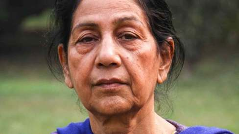 In memoriam: Nasreen Anjum Bhatti is the female voice, soft but strong