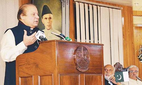 Kashmir a litmus test of leaders' foresight: Sharif