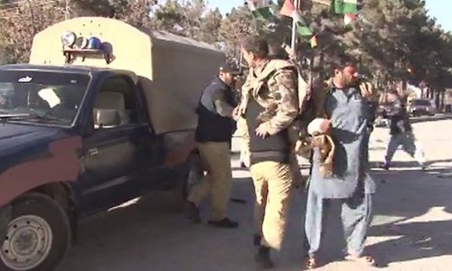 Seven killed, 15 injured as blast targets security forces' vehicle in Quetta