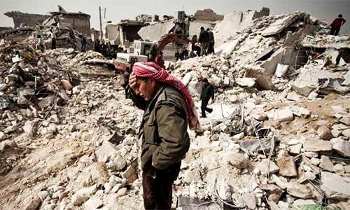 Thousands flee as offensive threatens to put Aleppo under siege