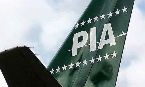 "PIA flights ""partially on"" at Islamabad airport"