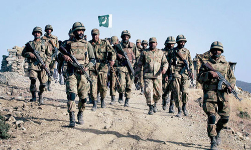 Army seeks funds from finance ministry to raise new security division