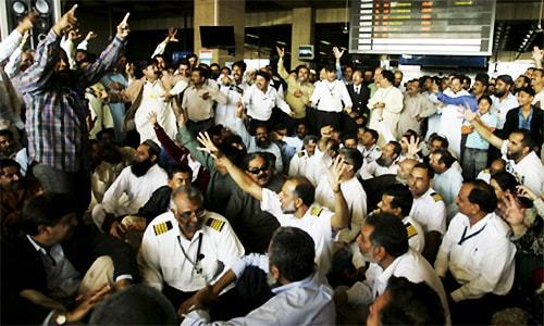 Four 'missing' PIA employees released in Karachi after six days