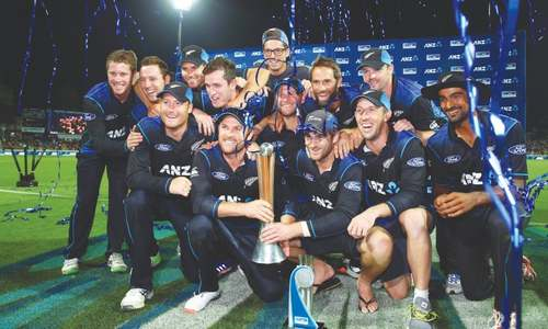 Toe-catch gives Black Caps ODI series over Australia