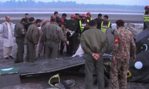 Army's training aircraft crashes near Gujranwala, killing both pilots