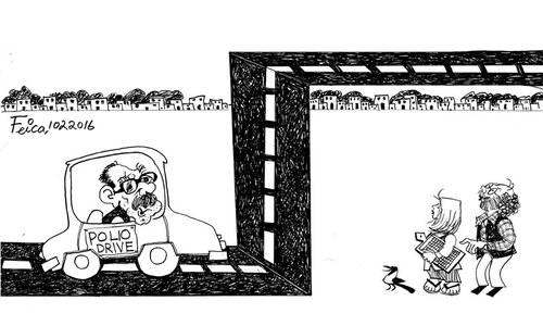 Cartoon: 10 February, 2016
