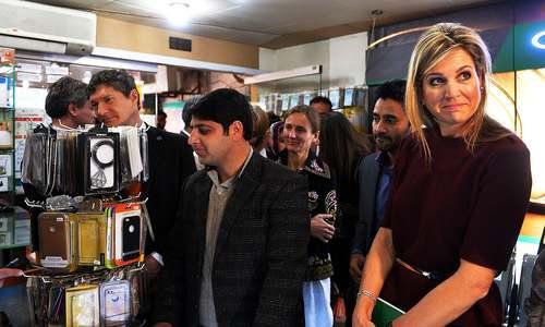 ملکہِ نیدرلینڈز کی پاکستان میں مصروفیات