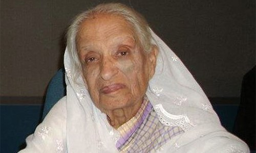 Renowned Urdu playwright Fatima Surayya Bajia passes away at 85