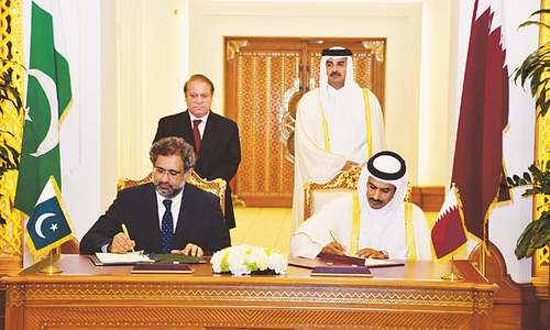 15-year LNG import deal signed with Qatar