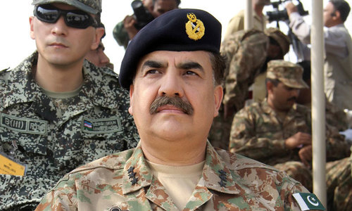 COAS stresses action against terror abetters