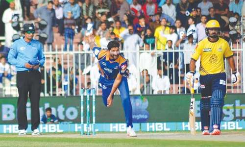 Peshawar survive Bopara blitz to edge Karachi