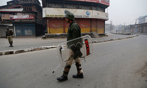 Strike paralyses India-held Kashmir