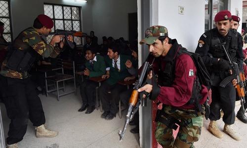 Mock 'terror' drills in 10 schools to test response times