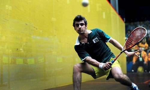 No Pakistani in world's top 50 squash players