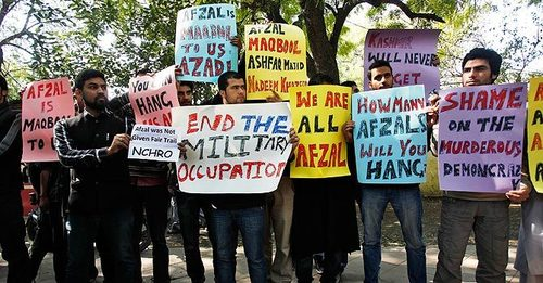 India arrests student on sedition charges for organising event on Afzal Guru