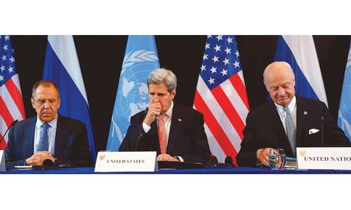 World powers agree to end hostilities in Syria