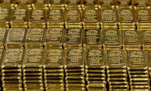Gold heads for best week in four years