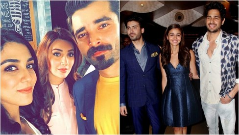 This week in pictures: The Mann Mayal trio reunites & Fawad Khan colour coordinates with his co-stars