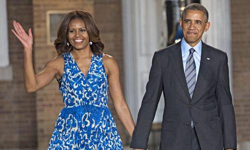 اوباما کا ٹی وی شو پر مشعل سے اظہار محبت