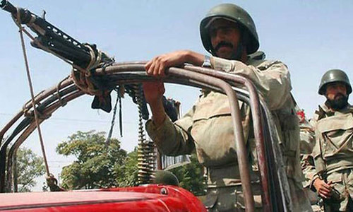 Forces kill 10 suspected militants in Sibi