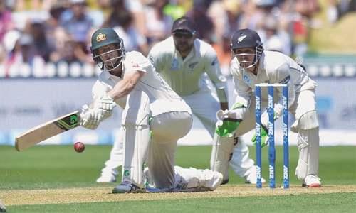 Voges, Khawaja centuries put Australia in lead
