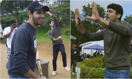How Fawad and Siddharth bonded over cricket on the sets of Kapoor & Sons