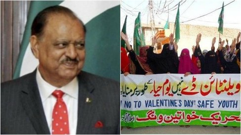 What happens when you celebrate Valentine's Day with Mamnoon and protesters? I find out