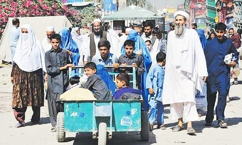 Almost unregulated crossing at Torkham a security challenge