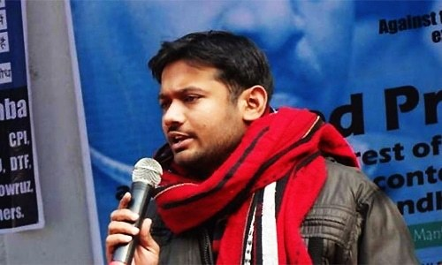 JNU student union leader imprisoned in Afzal Guru's old jail cell