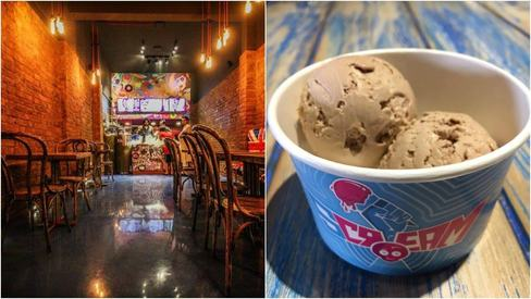 This Karachi eatery uses liquid nitrogen to create the perfect scoop of ice cream