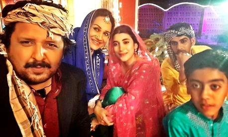 Urwa Hocane and Bushra Ansari to get musical in next TV drama