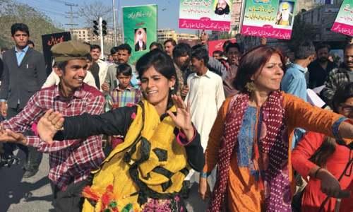 Rally for Punjabi as compulsory subject