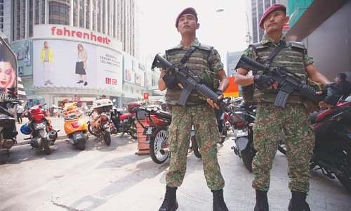 Malaysia faces terror threat, warns Australia