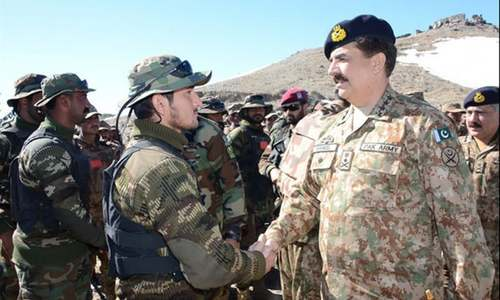COAS gives go-ahead for final phase of operation in Shawal