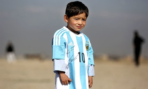 Little Afghan Messi fan not giving up on meeting idol