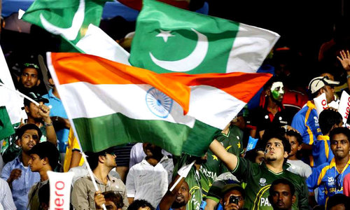 The Pakistan vs India battle — on Twitter