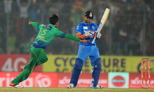 Video: Mohammad Amir's fiery opening spell against India