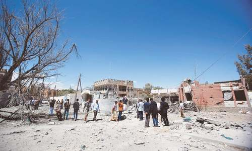 Air strike on Yemen market kills 30
