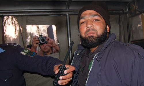Mumtaz Qadri, the killer of Salman Taseer.—Reuters/File