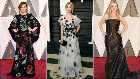 7 celebrities who could have looked better at the Oscars