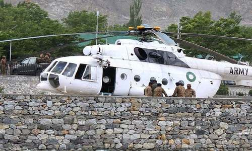 Helicopter crash in Tarbela kills army officer