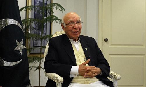 Aziz admits Pakistan housing Afghan Taliban leaders