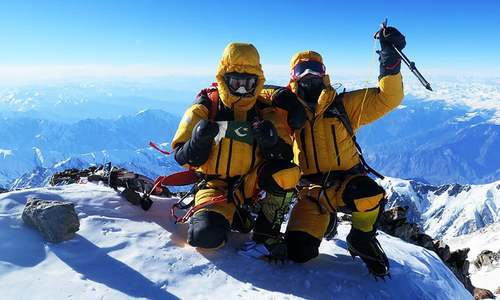 Conquering Pakistan's 'Killer Mountain' against all odds