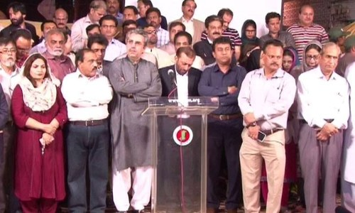 MQM smells conspiracy, anger behind Kamal's presser